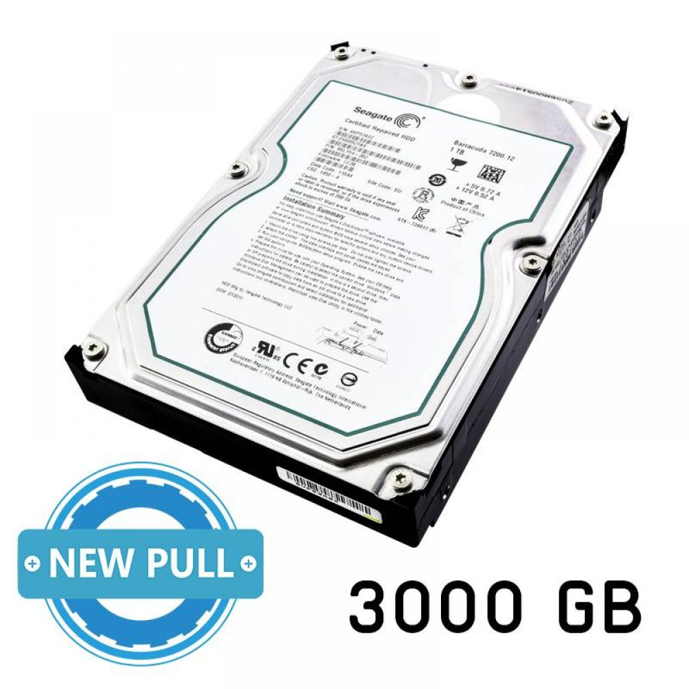 Disco duro New Pull SATA 3.5 de 3000 GB