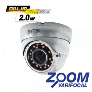 Camara domo Zoom varifocal de 2.0mp 2800 tvl 1080p