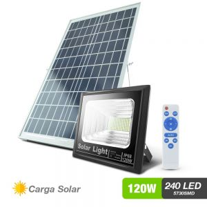 Reflector solar 240 LED 3,600 lumenes