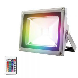 Reflector LED multicolor RGB 20W