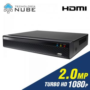 Grabador DVR 8 canales de 2.0mp 1080P Turbo HD