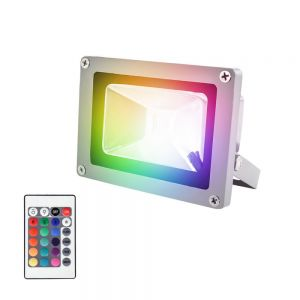 Reflector LED multicolor RGB 10W