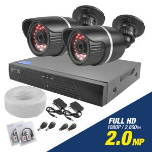 Kit de 2 camaras de 2.0mp Full HD 1080p