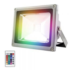 Reflector LED multicolor RGB 30W