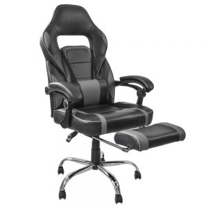 Silla Gamer reclinable con descansa pies diseño robusto