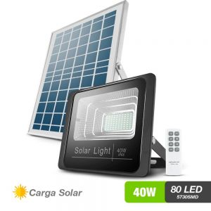 Reflector solar  80 LED 3,600 lumenes