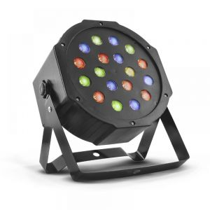 Cañon LED audioritmico multicolor RGB