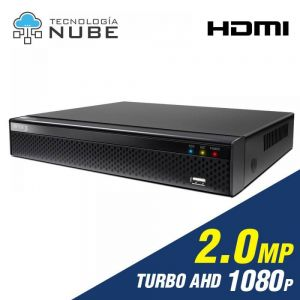 Grabador DVR 4 canales de 2.0mp 1080p Turbo HD