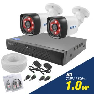 Kit de 2 camaras de 1.0mp HD 720p
